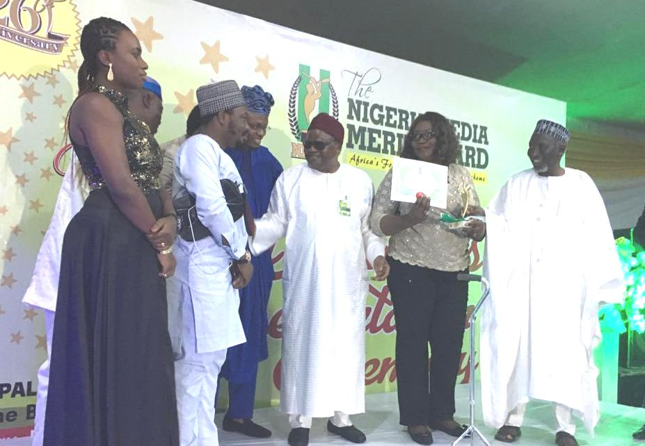 TVC News flies high at the NMMA, wins Best TV Station of the
