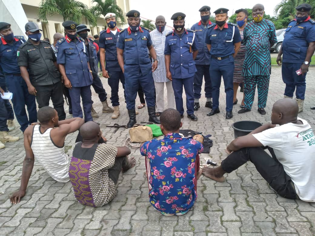 NSCDC prevents thieves from diverting 1,100 litres of PMS across border